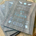 Wedding-invites-on-wood