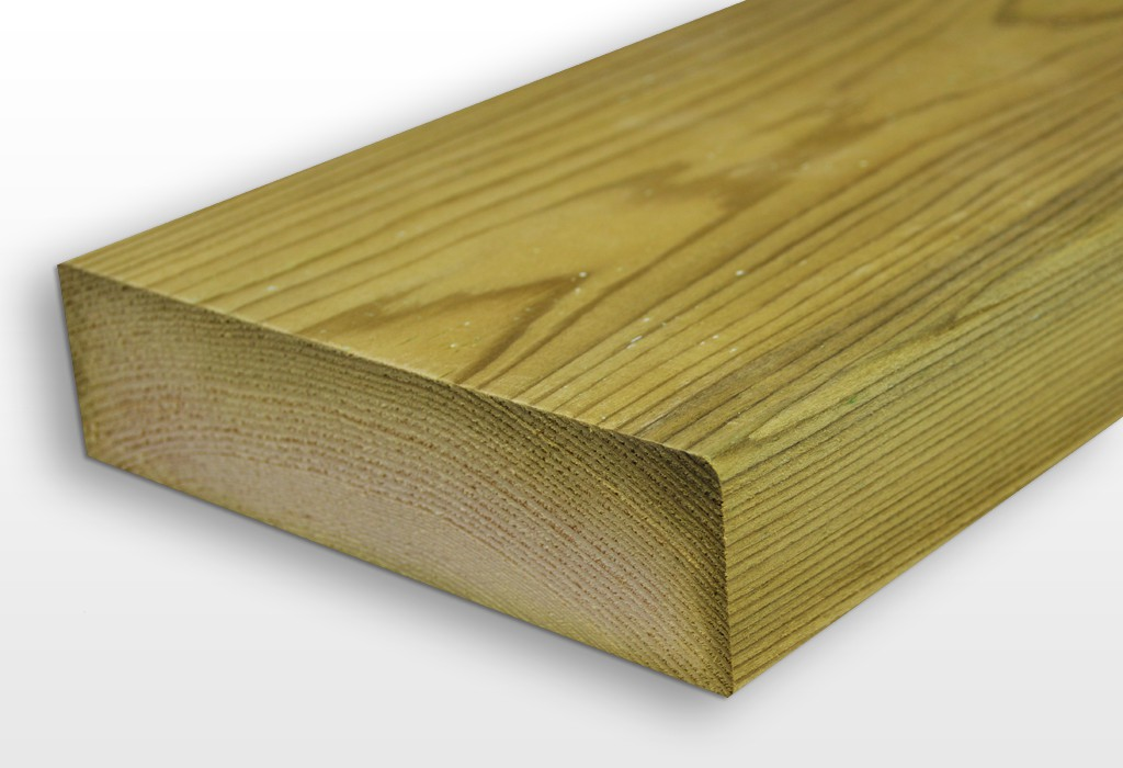 Solid timber planks