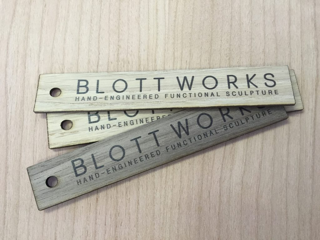 Printed Wooden Labels