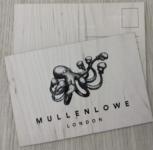 Promotional Wooden Postcard