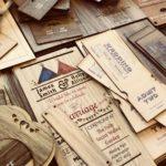 printed wooden wedding invitations