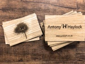 Oak Wood business cards