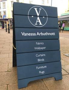 Vanessa Arbuthnott a-board