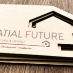 spatial future business cards 1.5mm birch