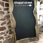 Chapel Street Chalkboard
