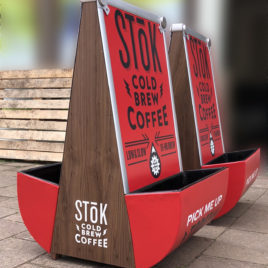 Stok Coffee a-boards
