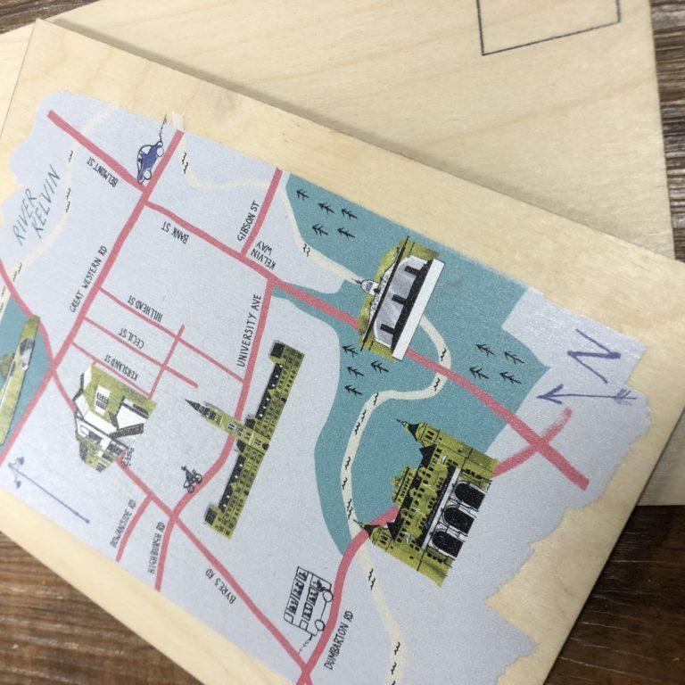 Town postcards